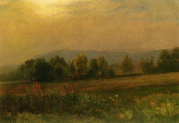 New England Landscape   Albert Bierstadt   oil painting