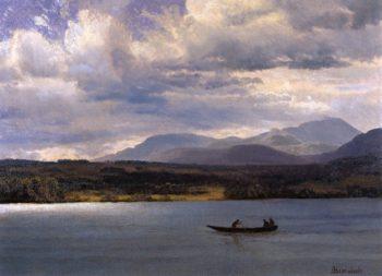 Overlook Mountain from Olana | Albert Bierstadt | oil painting