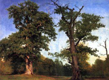 Pioneers of the Woods | Albert Bierstadt | oil painting
