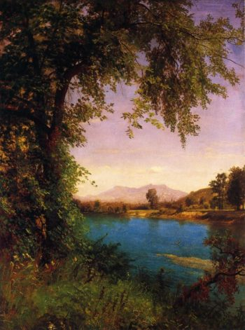 South and North Moat Mountains | Albert Bierstadt | oil painting
