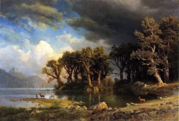 The Coming Storm | Albert Bierstadt | oil painting