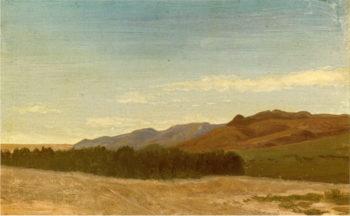 The Plains Near Fort Laramie | Albert Bierstadt | oil painting