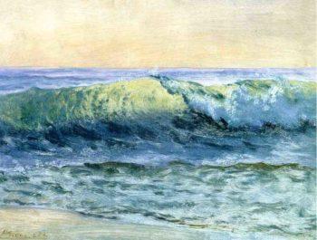 The Wave | Albert Bierstadt | oil painting