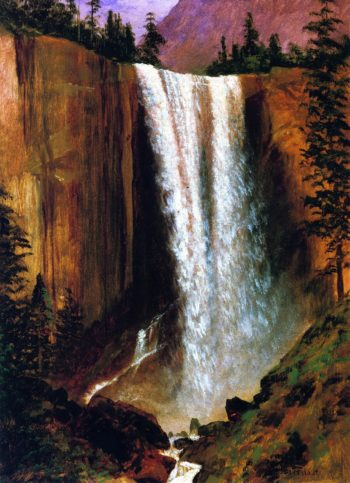 Vernal Fall | Albert Bierstadt | oil painting