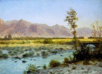 Western Landscape | Albert Bierstadt | oil painting