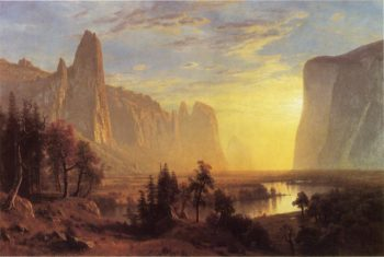 Yosemite Valley | Albert Bierstadt | oil painting