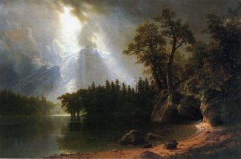 Yosemite | Albert Bierstadt | oil painting