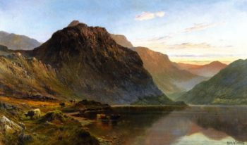 A Shoulder of Ben Nevis | Alfred de Breanski Sr | oil painting