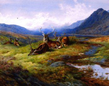 Naboth's Vineyard | Archibald Thornburn | oil painting