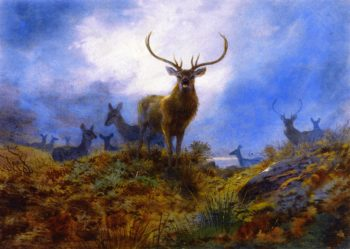 The Last Chance before Dark | Archibald Thornburn | oil painting