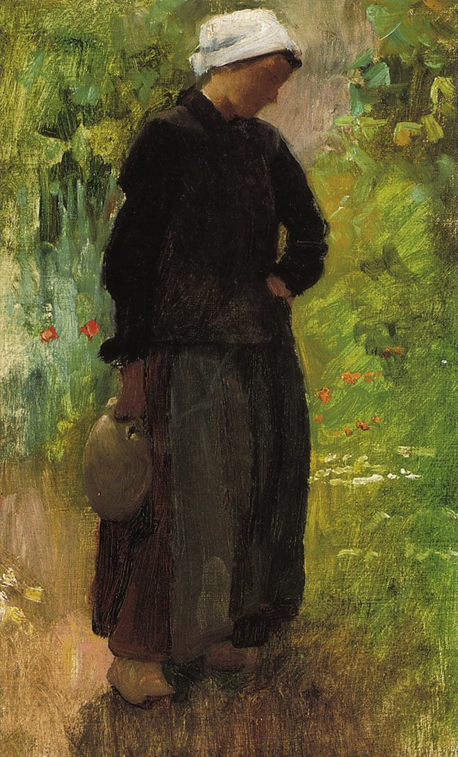 A Country Woman | Cecilia Beaux | oil painting