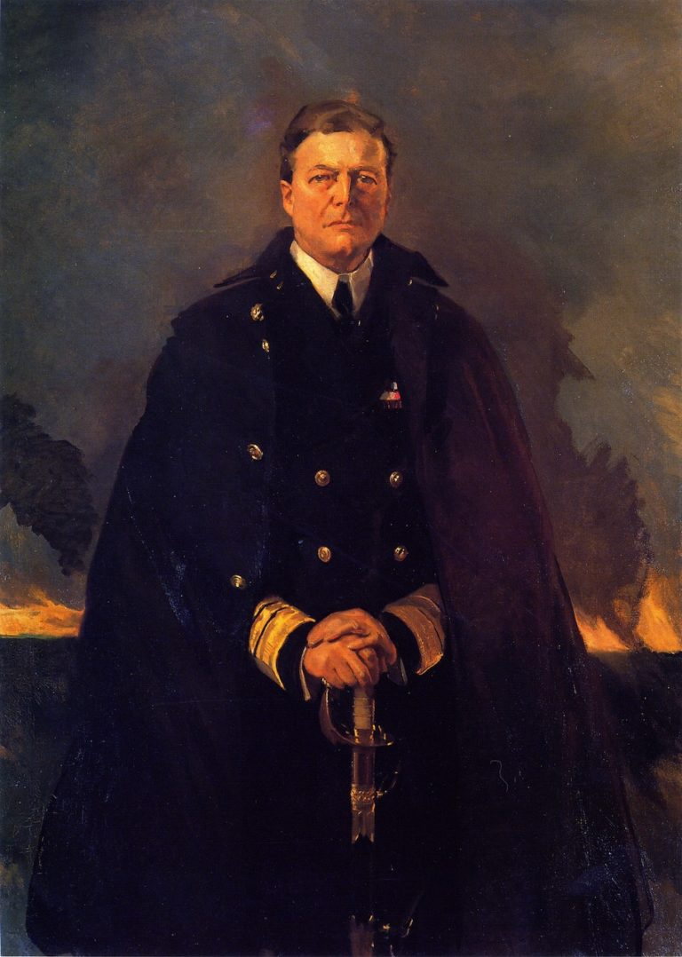 Admiral Sir David Beatty | Cecilia Beaux | oil painting