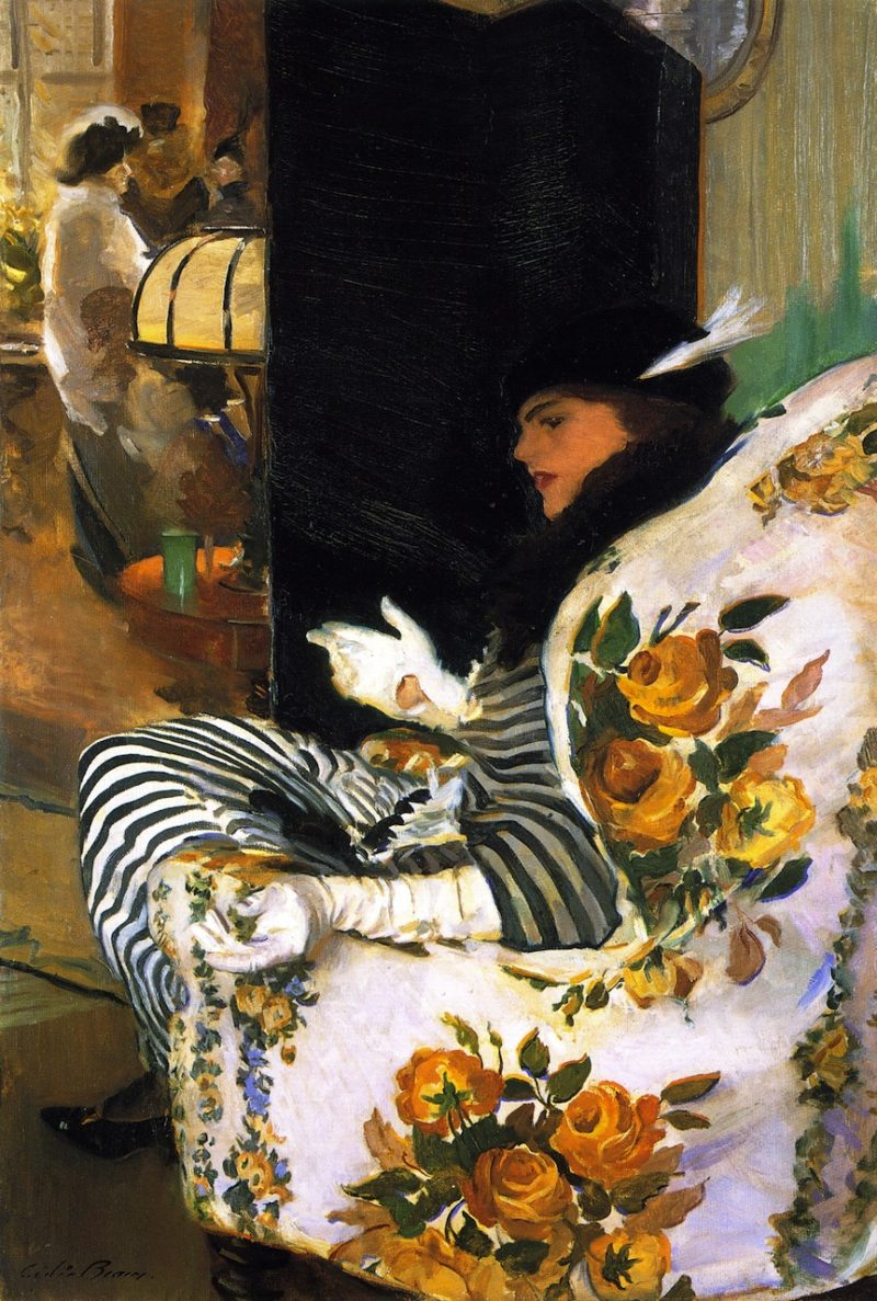 After the Meeting | Cecilia Beaux | oil painting