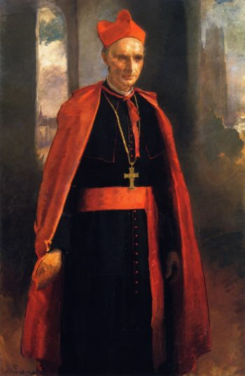 Cardinal Mercier | Cecilia Beaux | oil painting