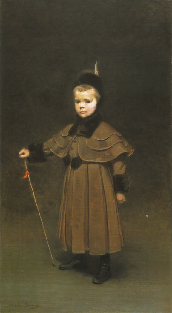 Cecil Kent Drinker | Cecilia Beaux | oil painting