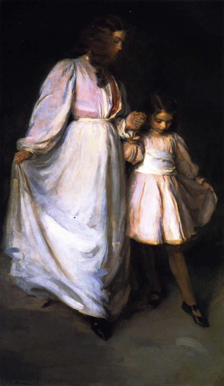 Dorothea and Francesca   Cecilia Beaux   oil painting