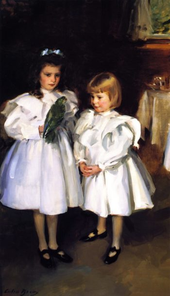 Gertrude and Elizabeth Henry | Cecilia Beaux | oil painting