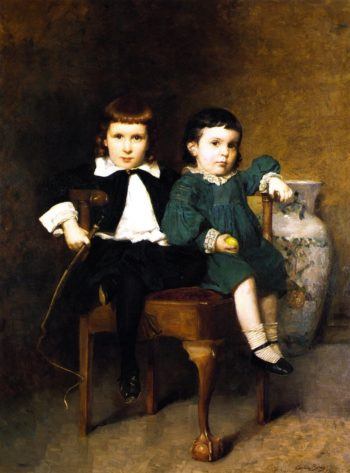 Howard and Mildred Colton | Cecilia Beaux | oil painting