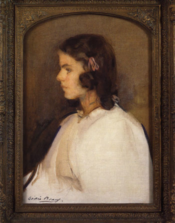 Miss Gilder | Cecilia Beaux | oil painting