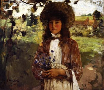Bluette | Edward Arthur Walton | oil painting