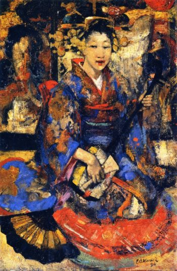 JMusic in Japan | Edward Atkinson Hornel | oil painting