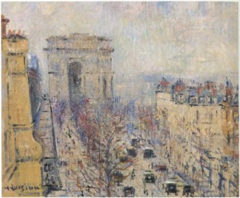Wagram Avenue | Gustave Loiseau | oil painting