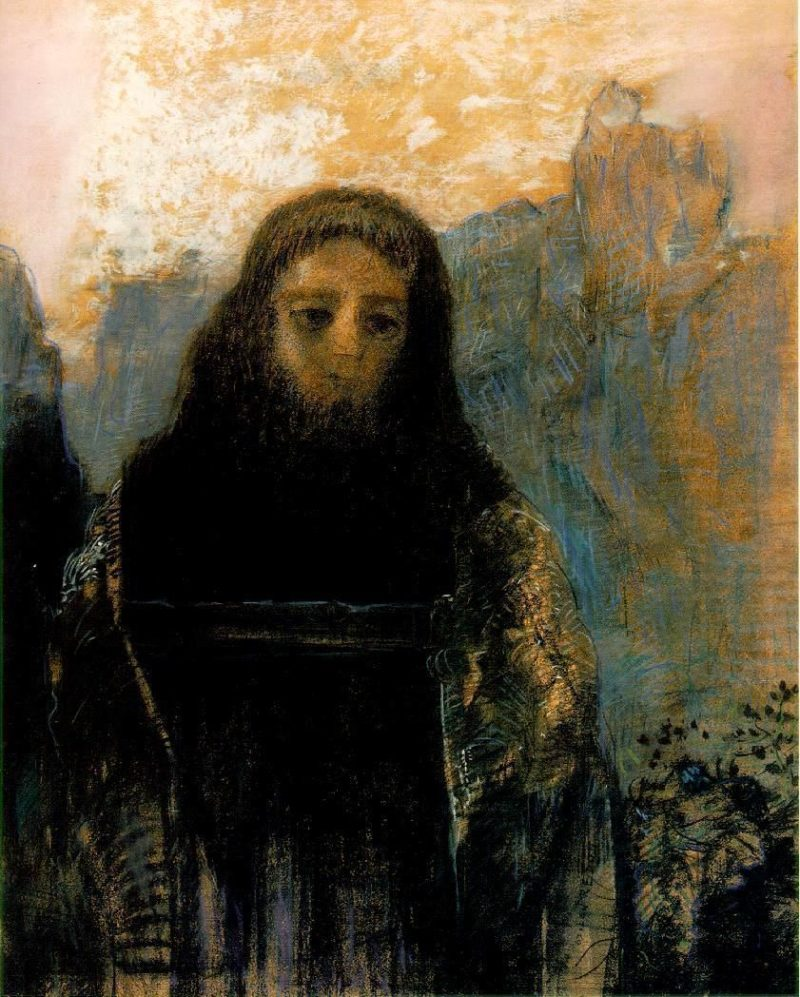Parsifal | Odilon Redon | oil painting