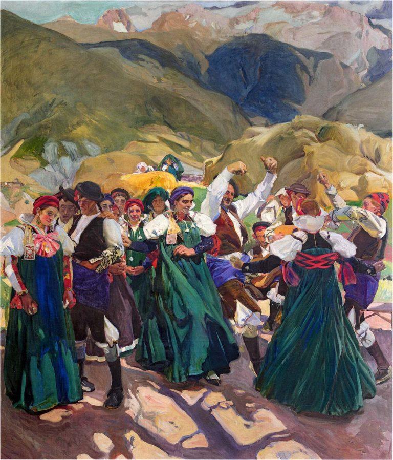 Aragon La Jota | Joaquin Sorolla y Bastida | oil painting