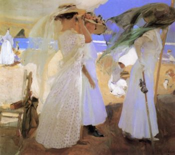 Beneath the Canopy | Joaquin Sorolla y Bastida | oil painting
