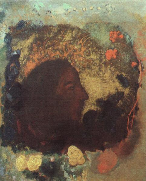 Portrait of Paul Gauguin | Odilon Redon | oil painting