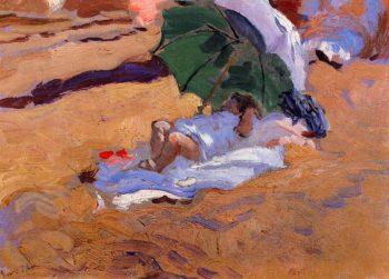 Childs Siesta | Joaquin Sorolla y Bastida | oil painting