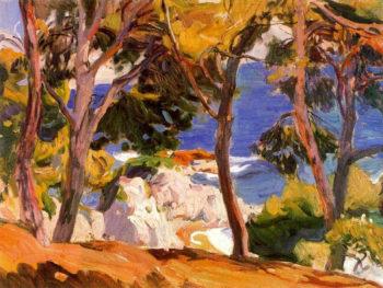 Coast at Santa Cristina | Joaquin Sorolla y Bastida | oil painting