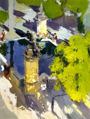 Fountain of the Mosque Cordoba | Joaquin Sorolla y Bastida | oil painting