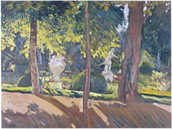 Gardens of La Granja | Joaquin Sorolla y Bastida | oil painting
