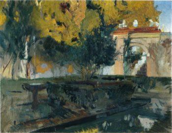 Generalife Granada   Joaquin Sorolla y Bastida   oil painting