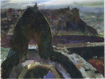 Generalife Granada | Joaquin Sorolla y Bastida | oil painting