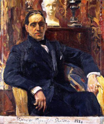 Gregorio Maranon Posadillo   Joaquin Sorolla y Bastida   oil painting