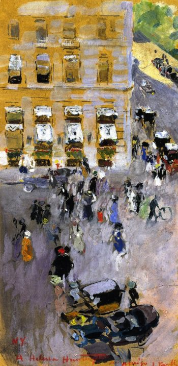 Hotel Plaza New York | Joaquin Sorolla y Bastida | oil painting