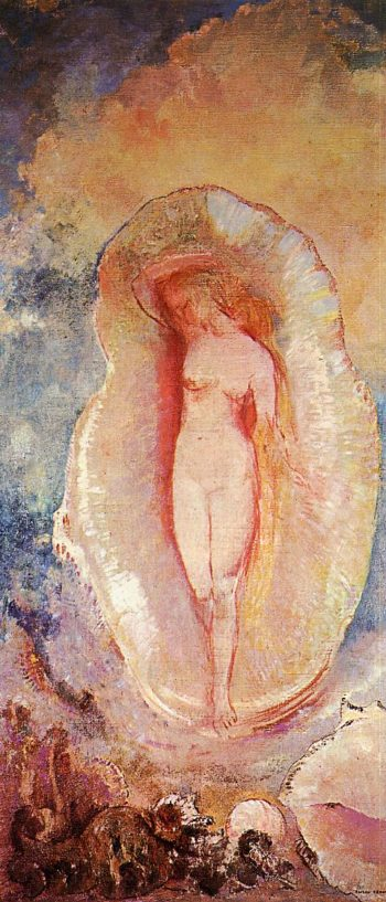 The Birth of Venus 1 | Odilon Redon | oil painting