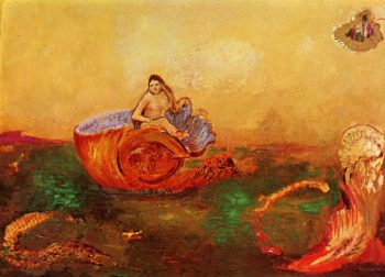 The Birth of Venus 2 | Odilon Redon | oil painting