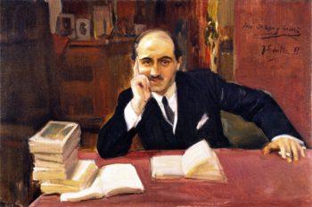 Jose Ortega y Gasset | Joaquin Sorolla y Bastida | oil painting