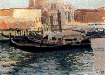 La Salute Venice | Joaquin Sorolla y Bastida | oil painting