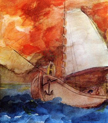 The Boat | Odilon Redon | oil painting
