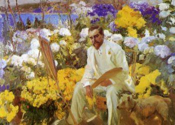Louis Comfort Tiffany | Joaquin Sorolla y Bastida | oil painting