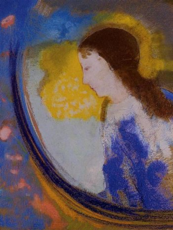 The Child in a Sphere of Light | Odilon Redon | oil painting