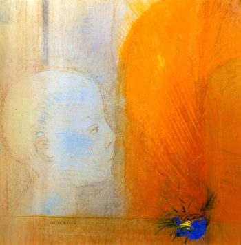 The Child | Odilon Redon | oil painting