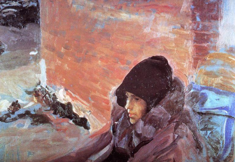 Maria Sick   Joaquin Sorolla y Bastida   oil painting