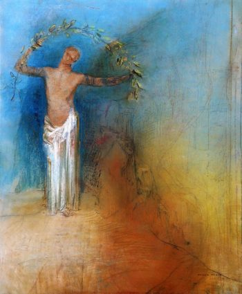 The Crown | Odilon Redon | oil painting