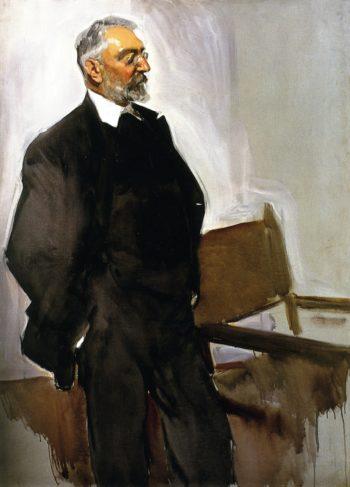 Miguel de Unamuno | Joaquin Sorolla y Bastida | oil painting