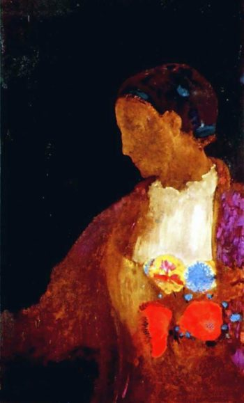 The Doge's Wife | Odilon Redon | oil painting